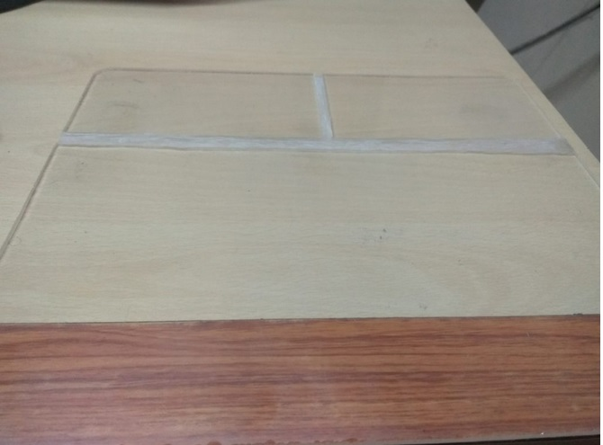 plexiglass for rgb mousepad