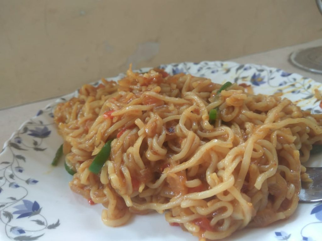 Maggi with Vegetables