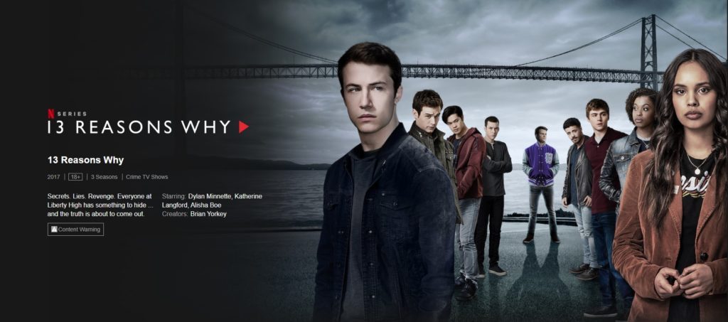 13 reasons why one of best series on netflix 2019