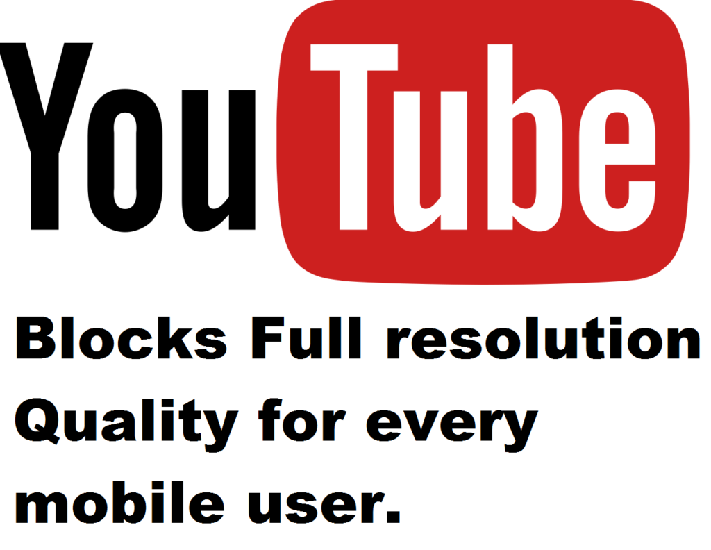 Youtube 480p restriction