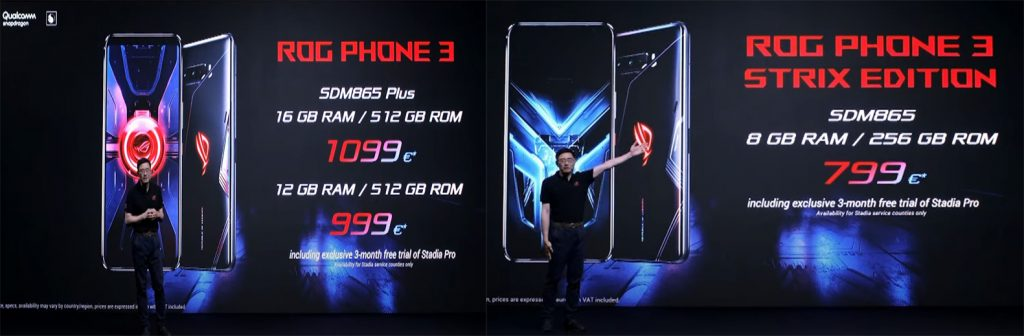 asus rog phone 3 official price