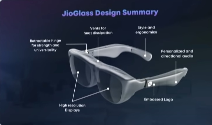 Jio glass specifications