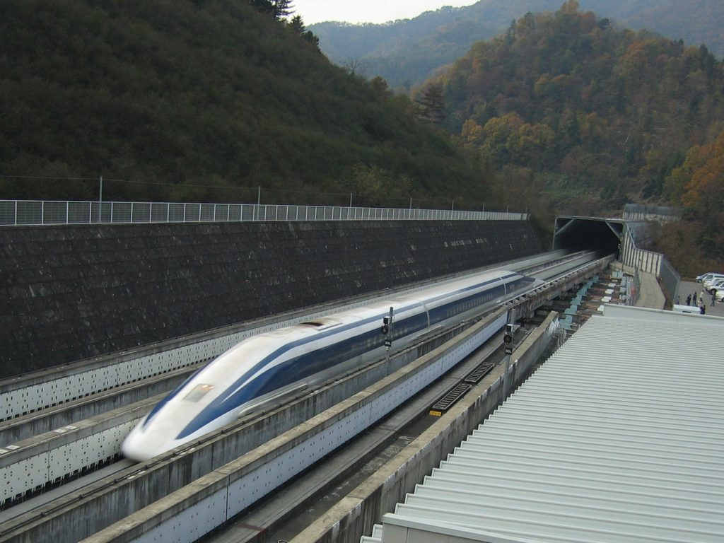 Maglev train in India