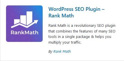 rankmath seo plugin wordpress plugin