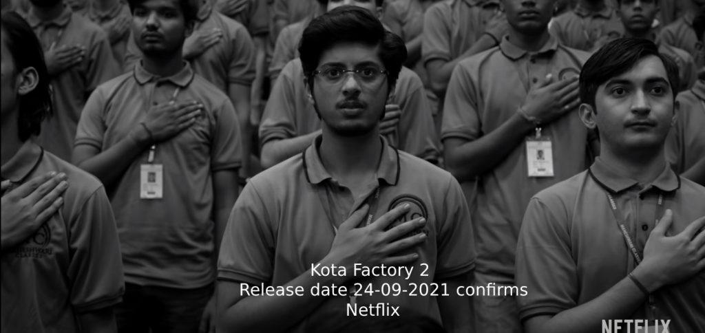 Kota factory 2 release date netflix